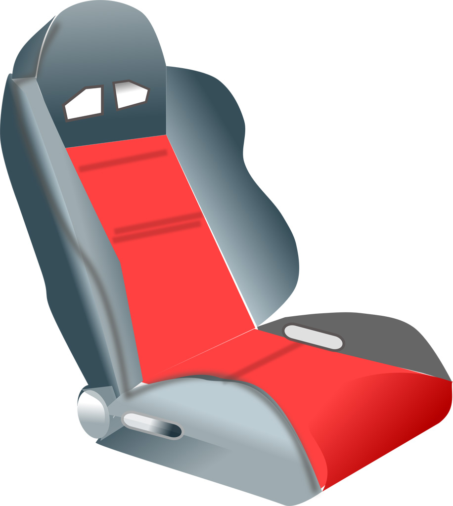 Car Racing Seat Vector