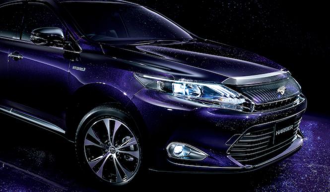 「ハリアー 紫」の画像検索結果